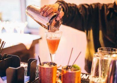 Cocktail à bord du Hornblower
